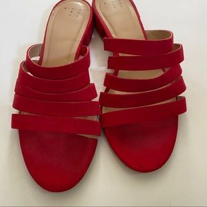 A new day by target red sandals